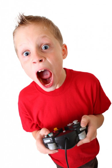 shocked gamer