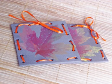 crafts for autumn leaves