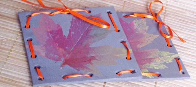 Fall Leaf Painting Craft