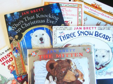 REad and Play activities for Jan Brett stories The Mitten
