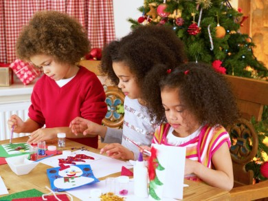 Last Minute Christmas Crafts Kids Can Make
