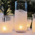 How to use epsom salt to make a lovely candle holder.