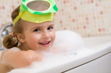 Easy bath time fun for kids