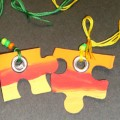Puzzle Friendship Necklace Craft
