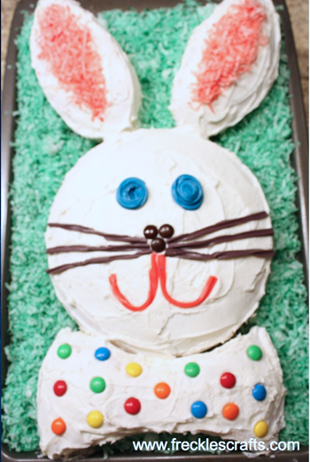 Easter Bunny Cake Pattern Ganz Parent Club
