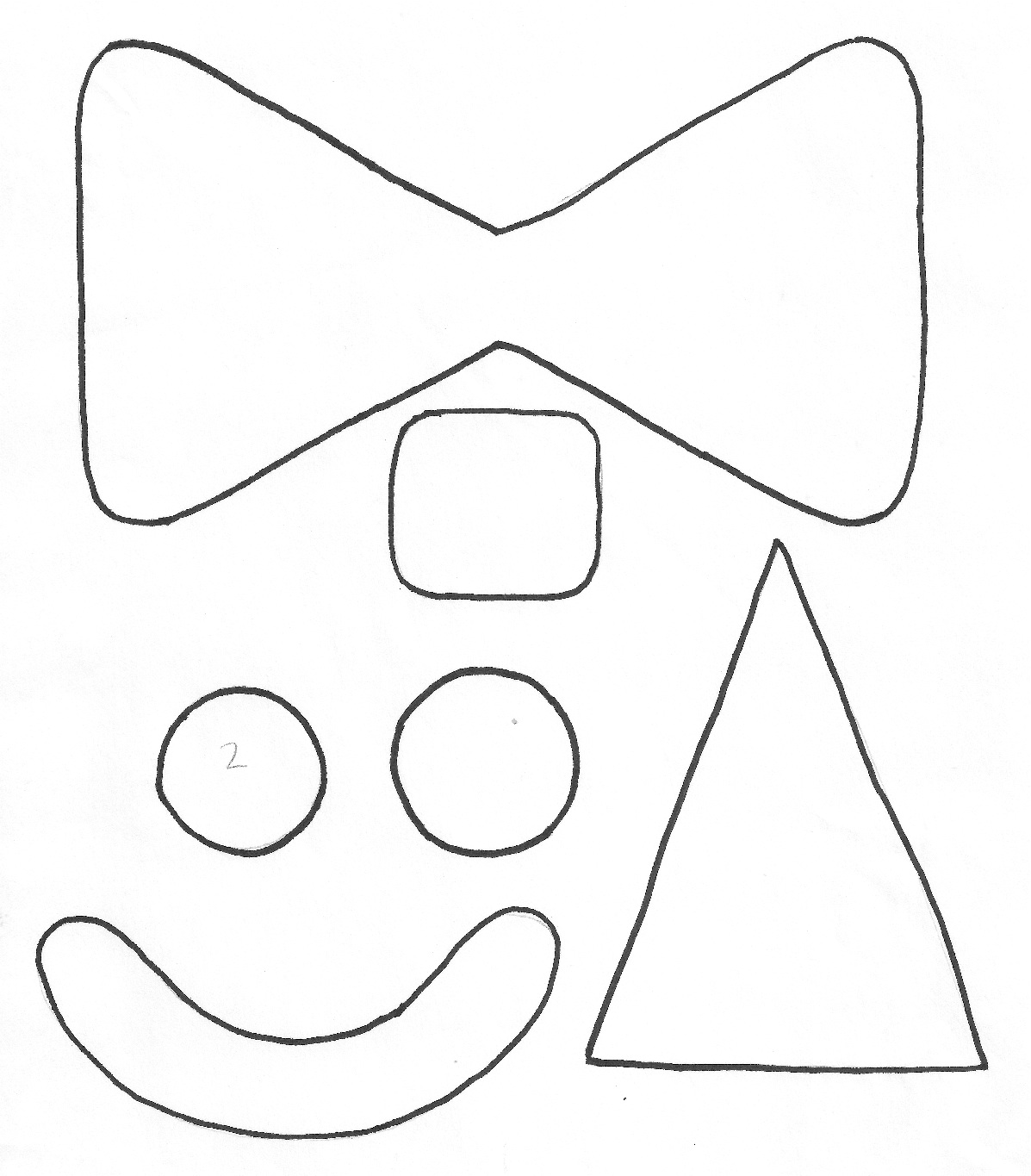 Clown puppet on a stick paper plate clown ganz parent club for Paper plate puppets templates