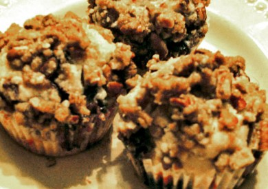 Blueberry Muffins for Blueberry Month