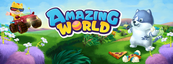Amazing World Banner