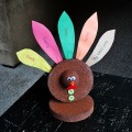 Thanksgiving Styrofoam Turkey Craft