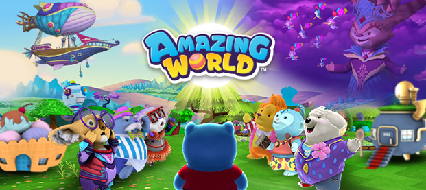 Amazing World voted the best MMO for kids!