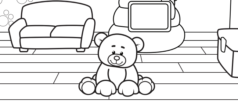 Free Coloring Book from Webkinz Jr.